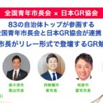 全国青年市長会と日本GR協会が連携します